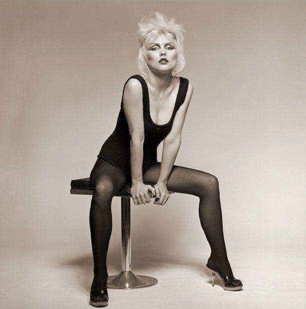 Debbie Harry, First session. Old Street Studio, London, 1977 Picture: © Brian Aris // Josie Stardust