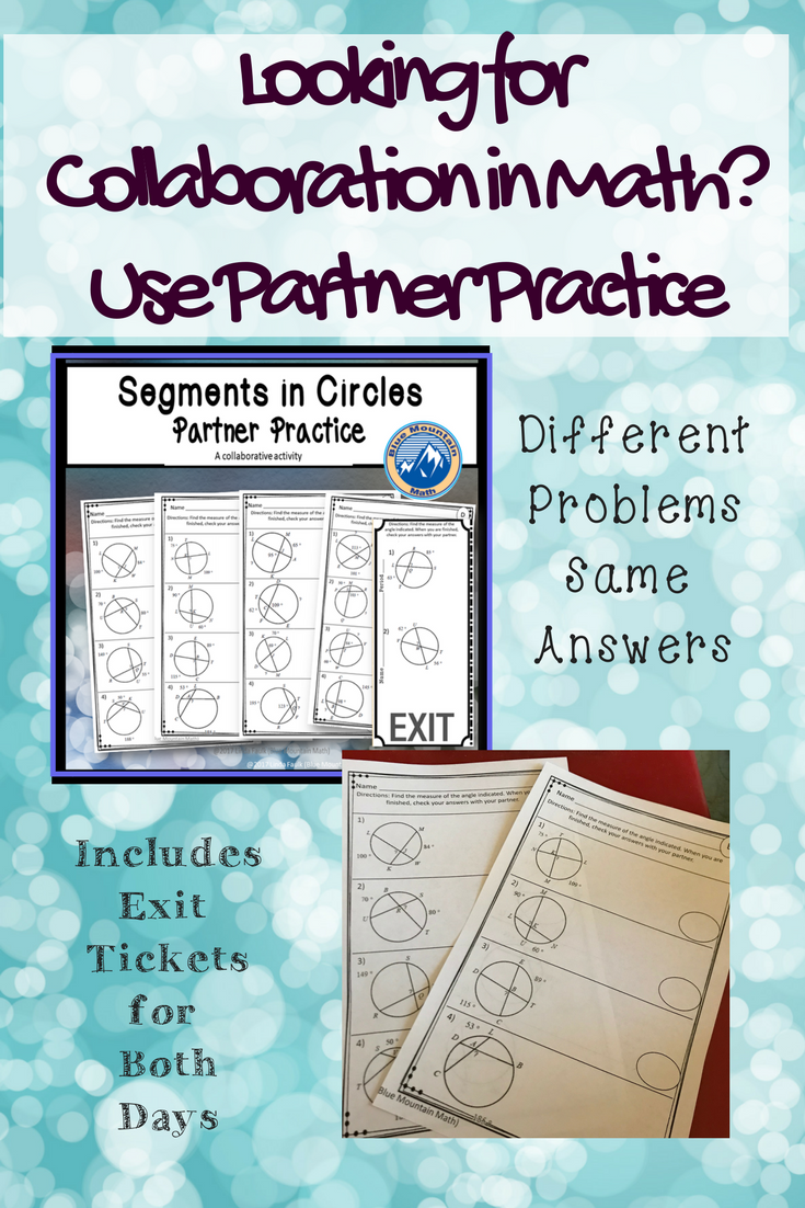 Great activity for the math classroom, alternative to typical ...