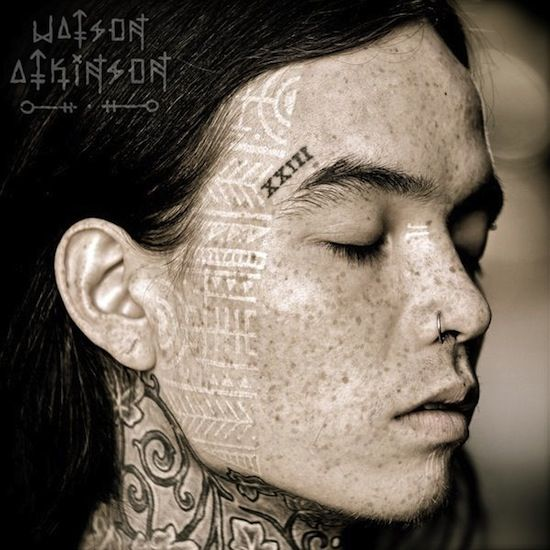 Cool Face Tattoos: Cool Face Tattoo By Watson Atkinson, Portland OR, USA