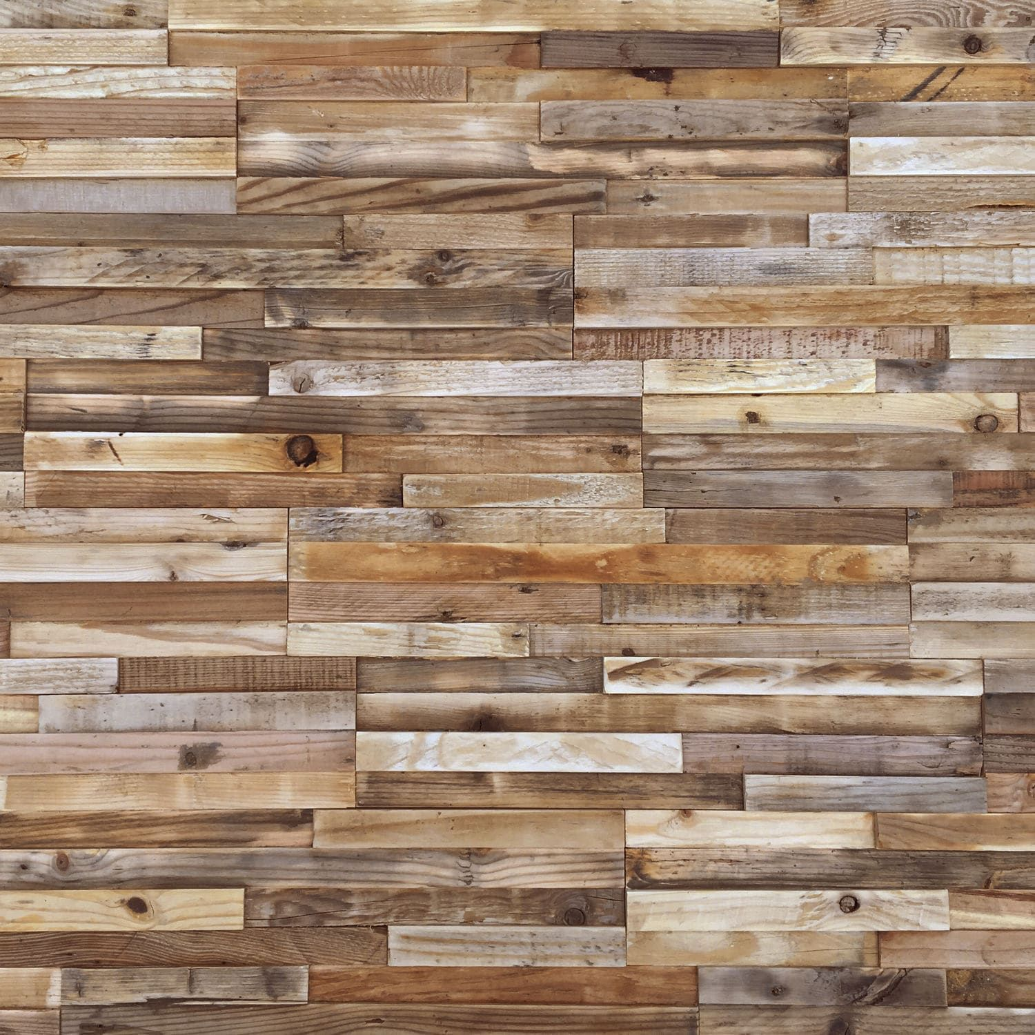 Decorative Panel Wood Wall Mounted Textured Stripes Timberwall