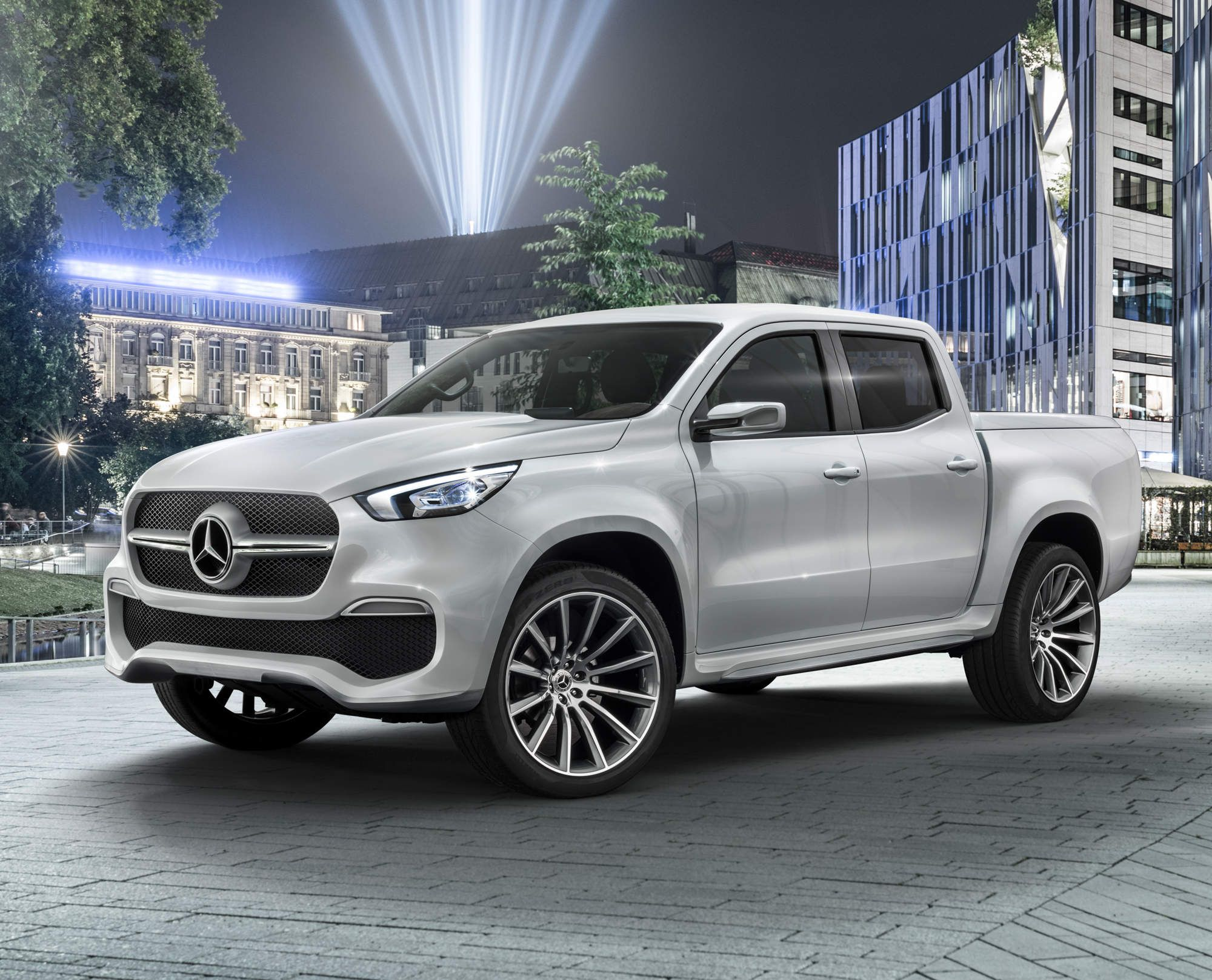 Mercedes Benz Is Actually Making A Pickup Truck Mercedes Car