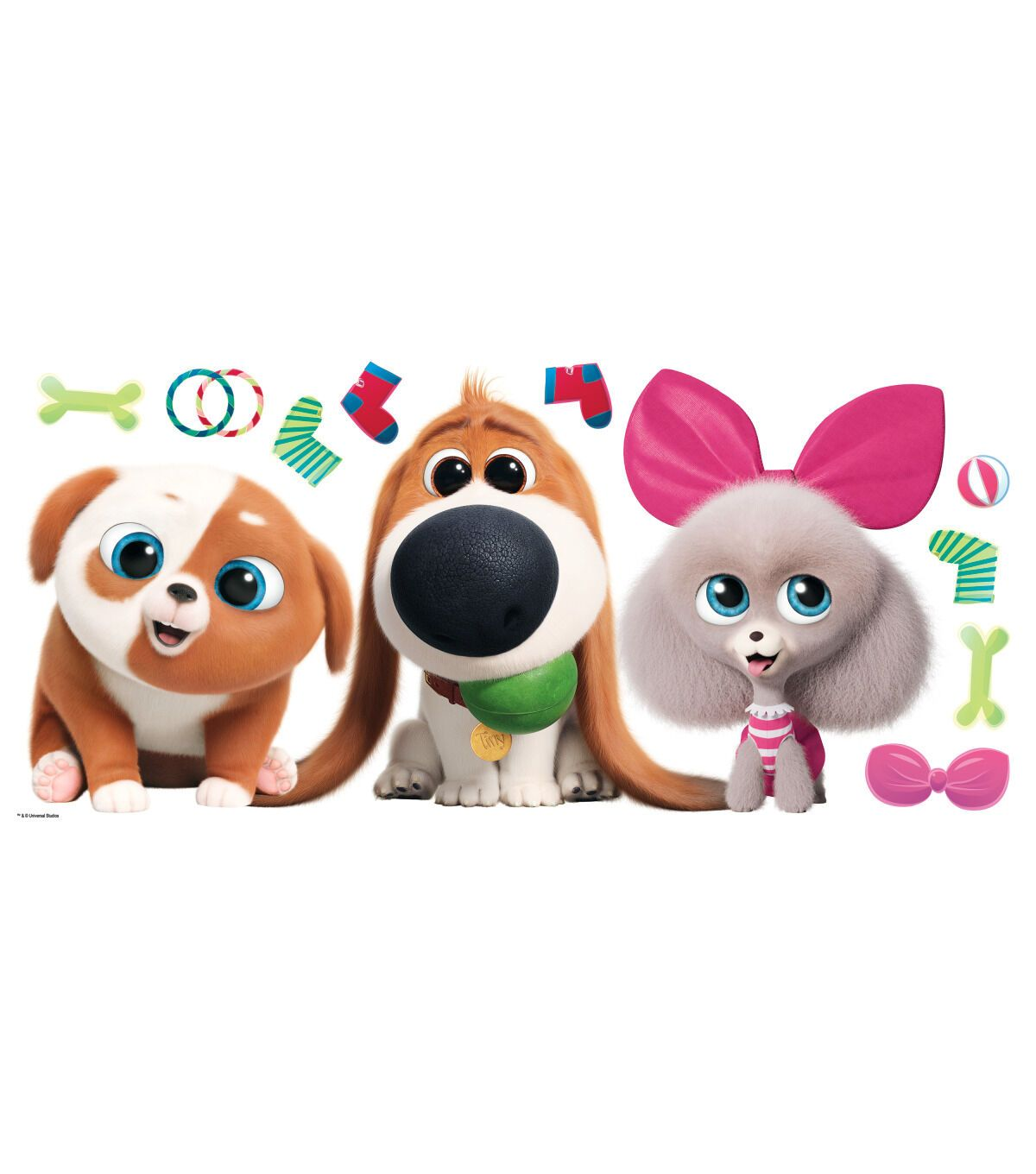 York Wallcoverings Wall Decals Secret Life Of Pets 2 Giant Joann Secret Life Of Pets Secret Life Pets