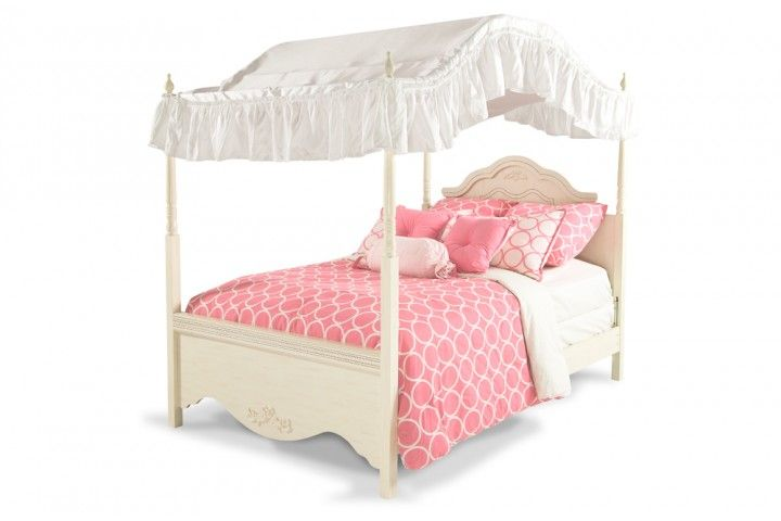 Sugar Amp Spice Full Size Canopy Bed Discount Bedroom