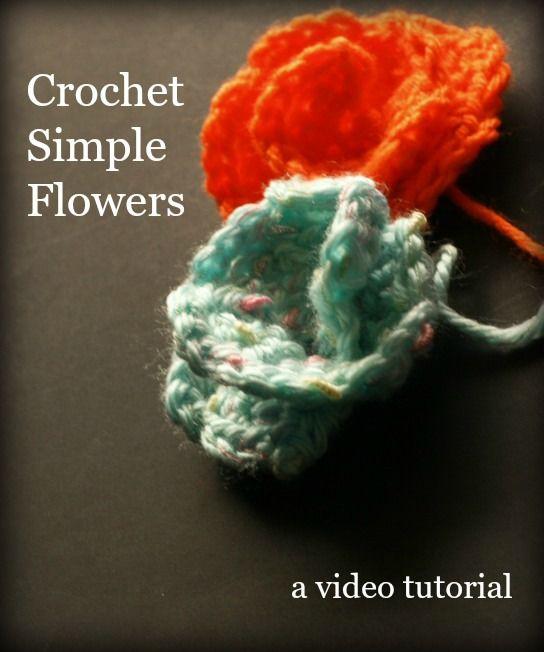 20 Fresh New Crochet Flower Patterns   Flores flamenca, Flores en ...
