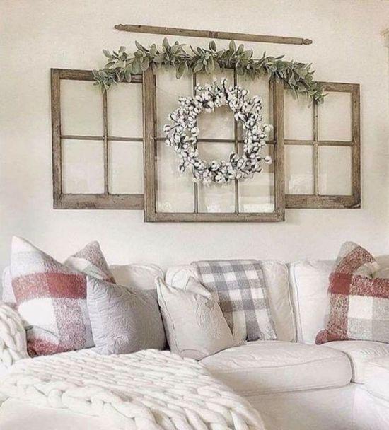 80 Beautiful Farmhouse Living Room Decor Ideas images