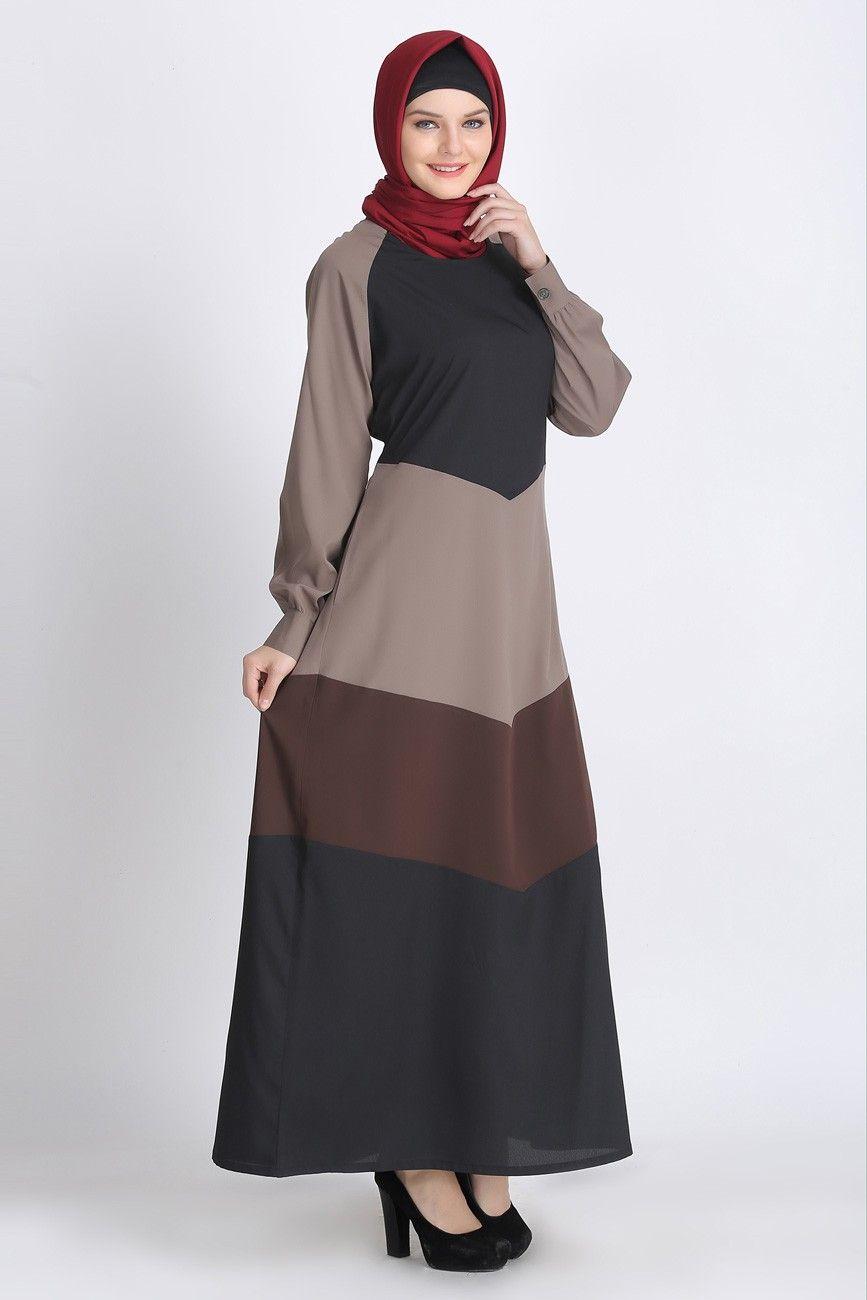 1b4a2a19cecc3 TRI-COLOR GREY SPRING ABAYA: $24.99 Islamic Clothing Online: Women Islamic  Clothing: