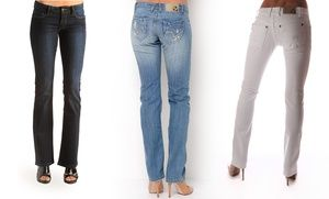 Groupon - R.E.U.S.E. Women's Denim. Multiple Styles Available from $ 29.99–$34.99. Free Returns. in Online Deal. Groupon deal price: $29.99