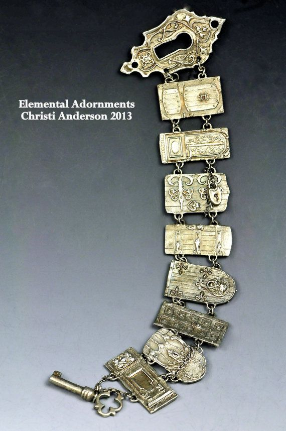 New Door Bracelet by Christi Anderson Elemental by cassioppea, $1150.00