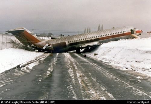 On Feb 21 1986 A Us Air Flight Slid Down And Overshot The Runway On Landing At Erie International Airport Aviation Accidents Aviation Air Flight