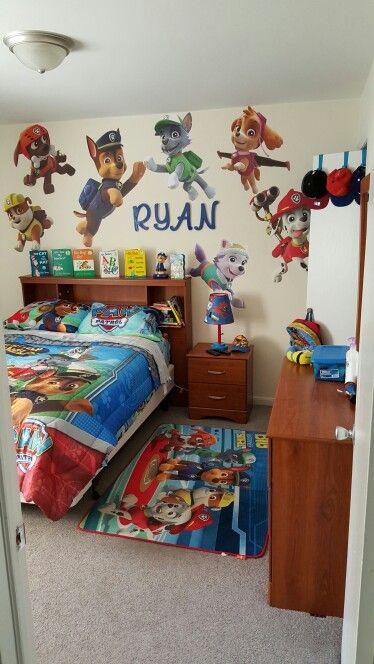 Ryan S Paw Patrol Room Toddler Boy Room Themes Paw Patrol Bedroom Paw Patrol Room