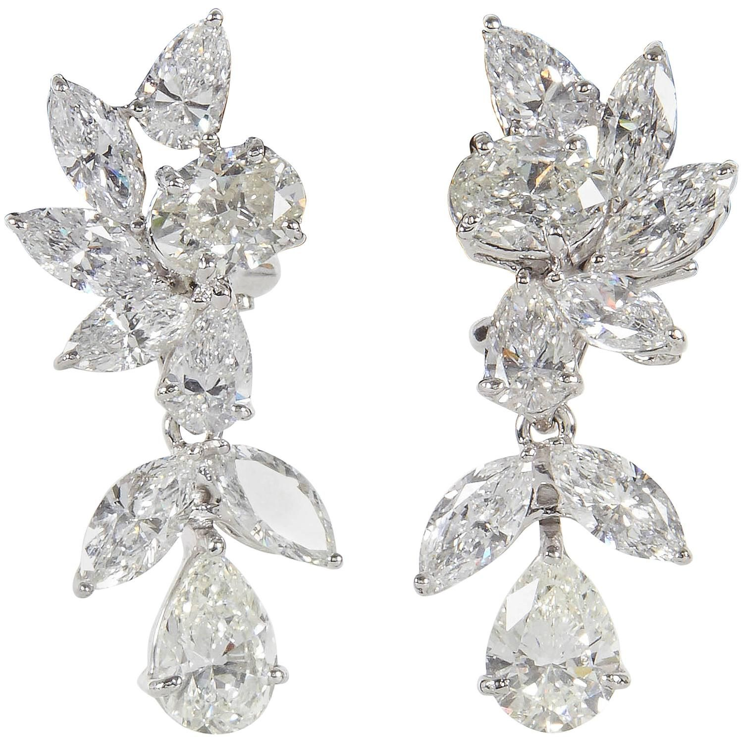 co earrings salvatore cluster floral
