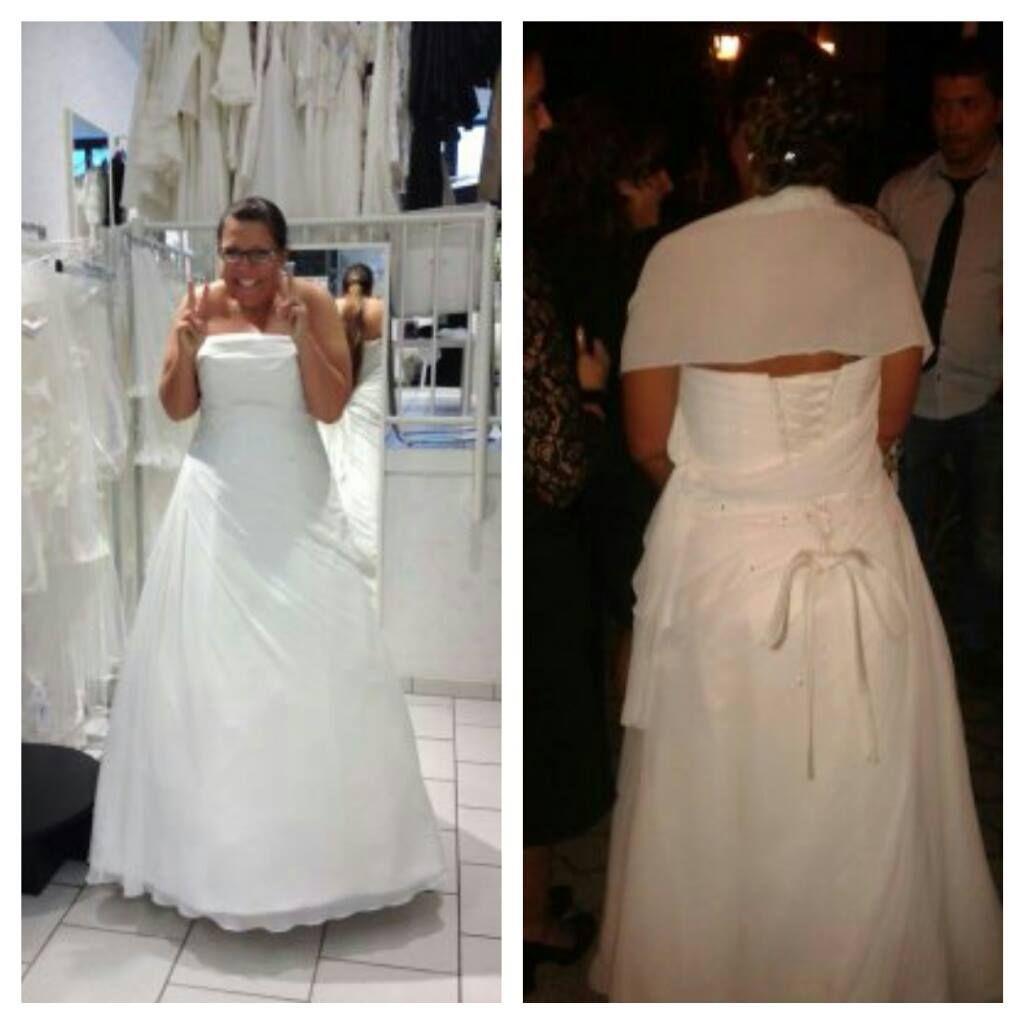 ♥ Hochzeitskleid Pronovias White One \