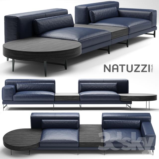 3d Models Sofa Sofa Natuzzi Ido Deco Maison Interieur Beaux Meubles Mobilier De Salon