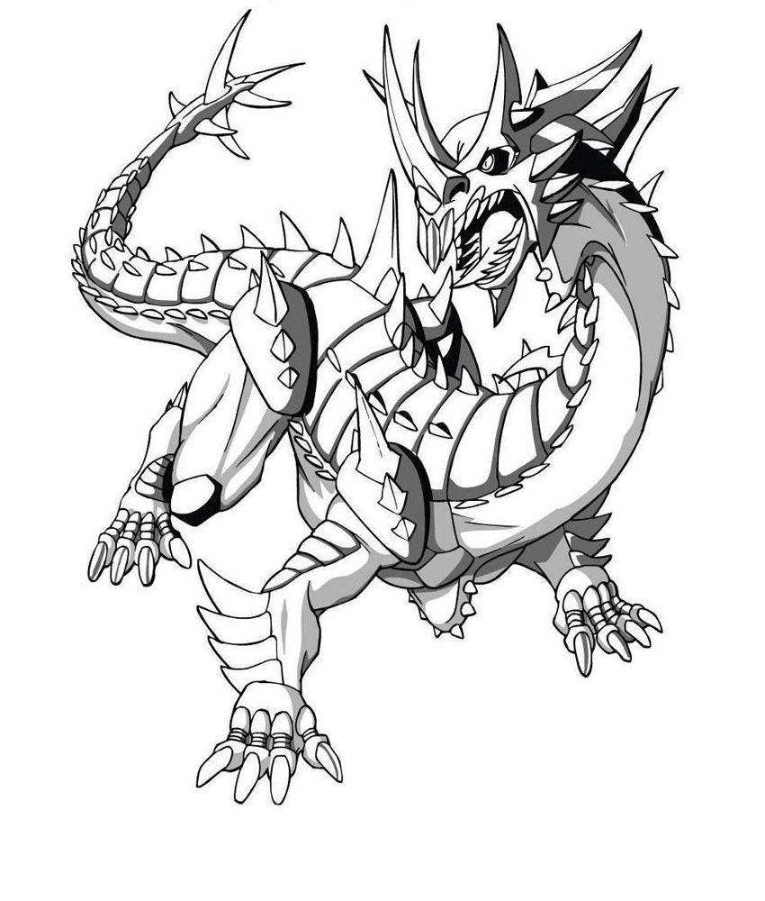 Desenhos para colorir - Bakugan para colorir | Páginas para colorir ...