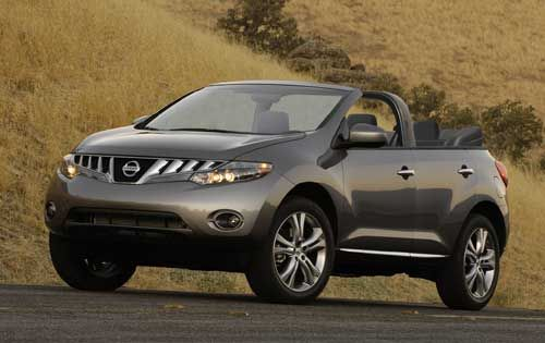 4 Door Nissan Murano Convertible Yes