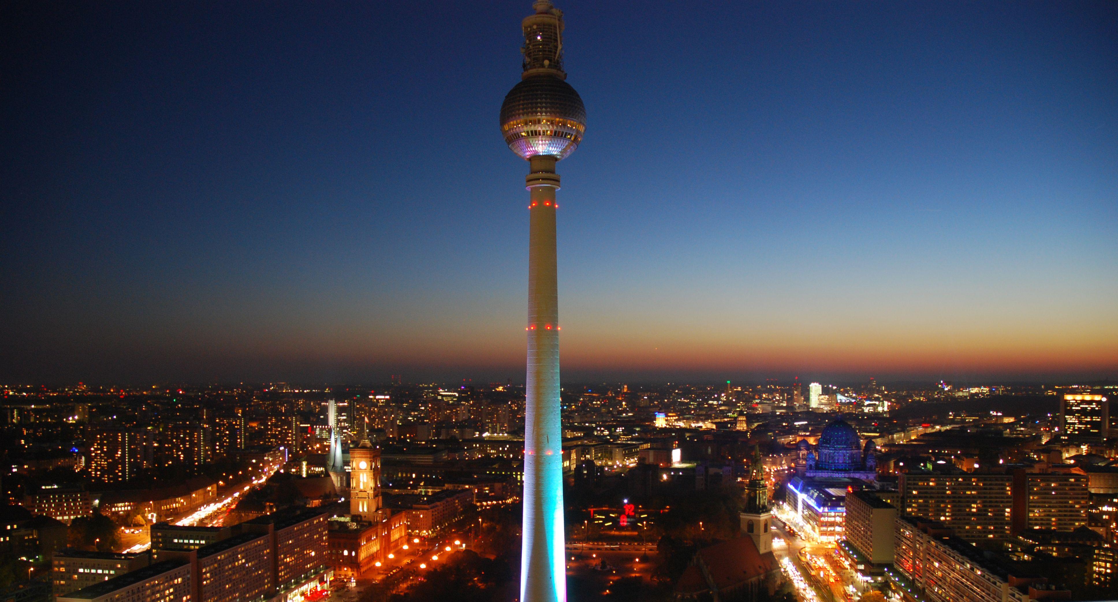 Nueva Zelanda Fernsehturm Tv Turm Fernsehturm Berlin