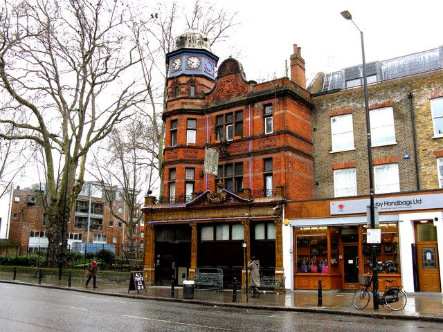 Ye Olde Axe Hackney Road Shoreditch One Of My Old Favourite