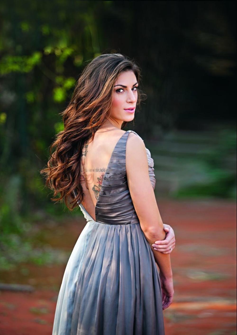 Ivana Spanovic | Backless dress formal, Backless dress