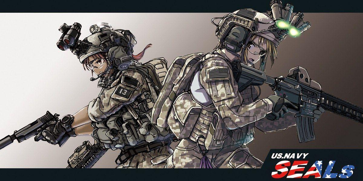 ТЯН И ОРУЖИЕ Anime military, Anime warrior, Guns