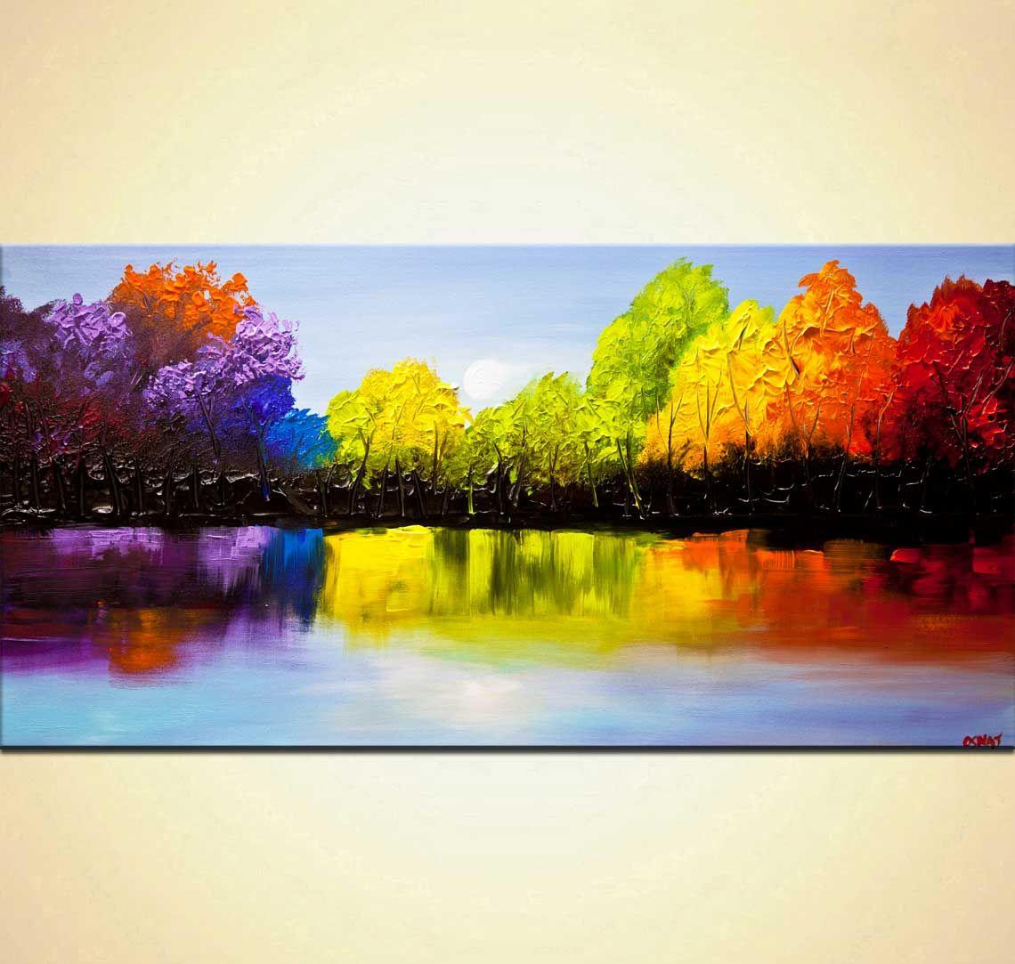 Abstract Art Osnat Tzadok Canvas