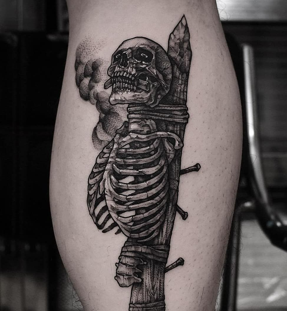 Sleeve Uicideboy Praying Skeleton Tattoo Wwwmiifotoscom