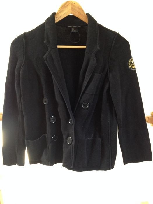 0c01118e829d Black Limited Edition Sonia Rykiel H&M cotton knitted jacket - vinted.co.uk