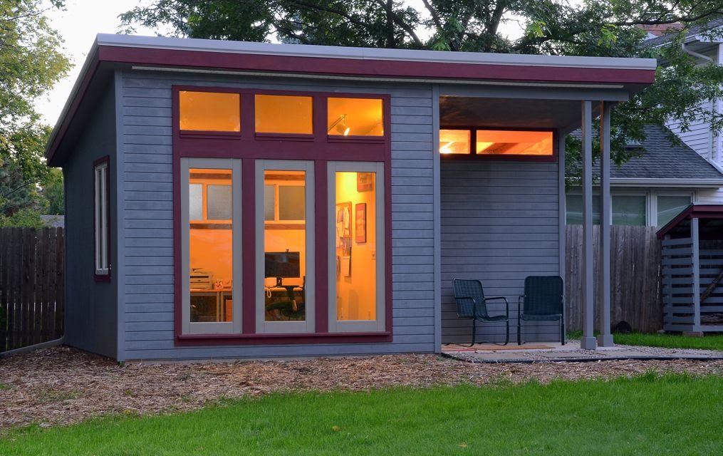 Build A Backyard Office Shed   Building a shed, Backyard ...