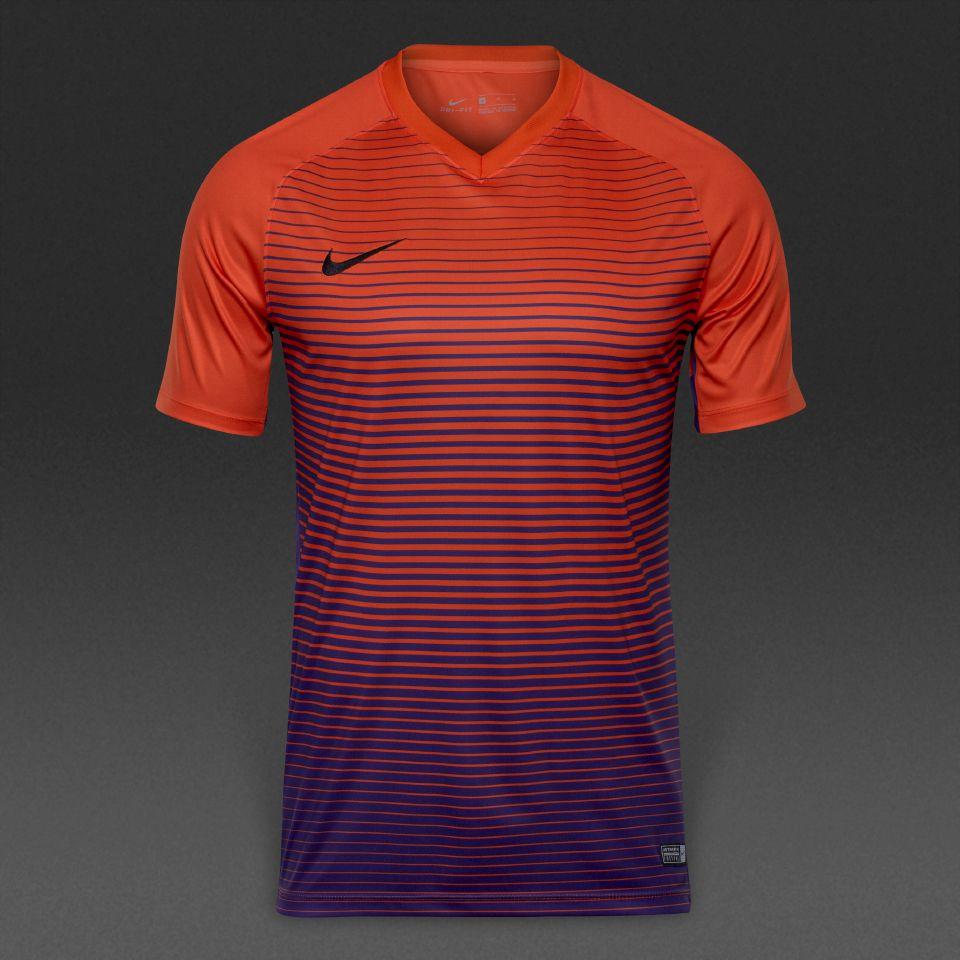 c6ad2234 Nike Precision IV SS Jersey - Orange/Purple | Visubal | Mens tops ...