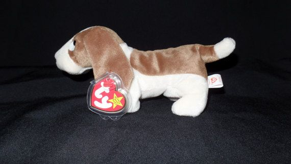 Tracker the Basset Hound Beanie Baby Original  0a9bd094ab9