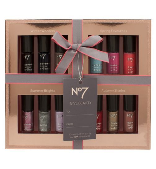 No7 12 Colours Of The Year Nail Polish Collection Gift Boots Nail Polish Collection No7 Nail Polish