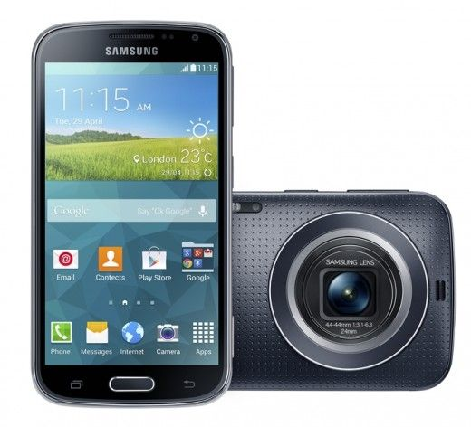 Samsung's Galaxy K Zoom smartphone packs a 20 megapixel