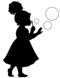 Image result for silhouette little black girl | Canvas ...