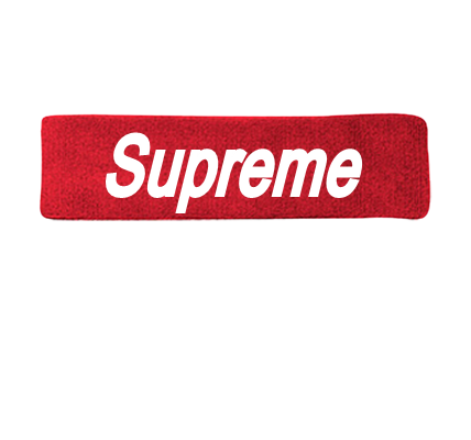 Authenic Lv Supreme Headbands