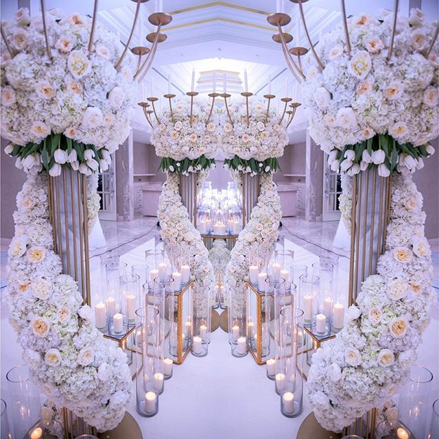 Entrance Decor From Carousel S Petals Upscale Weddings