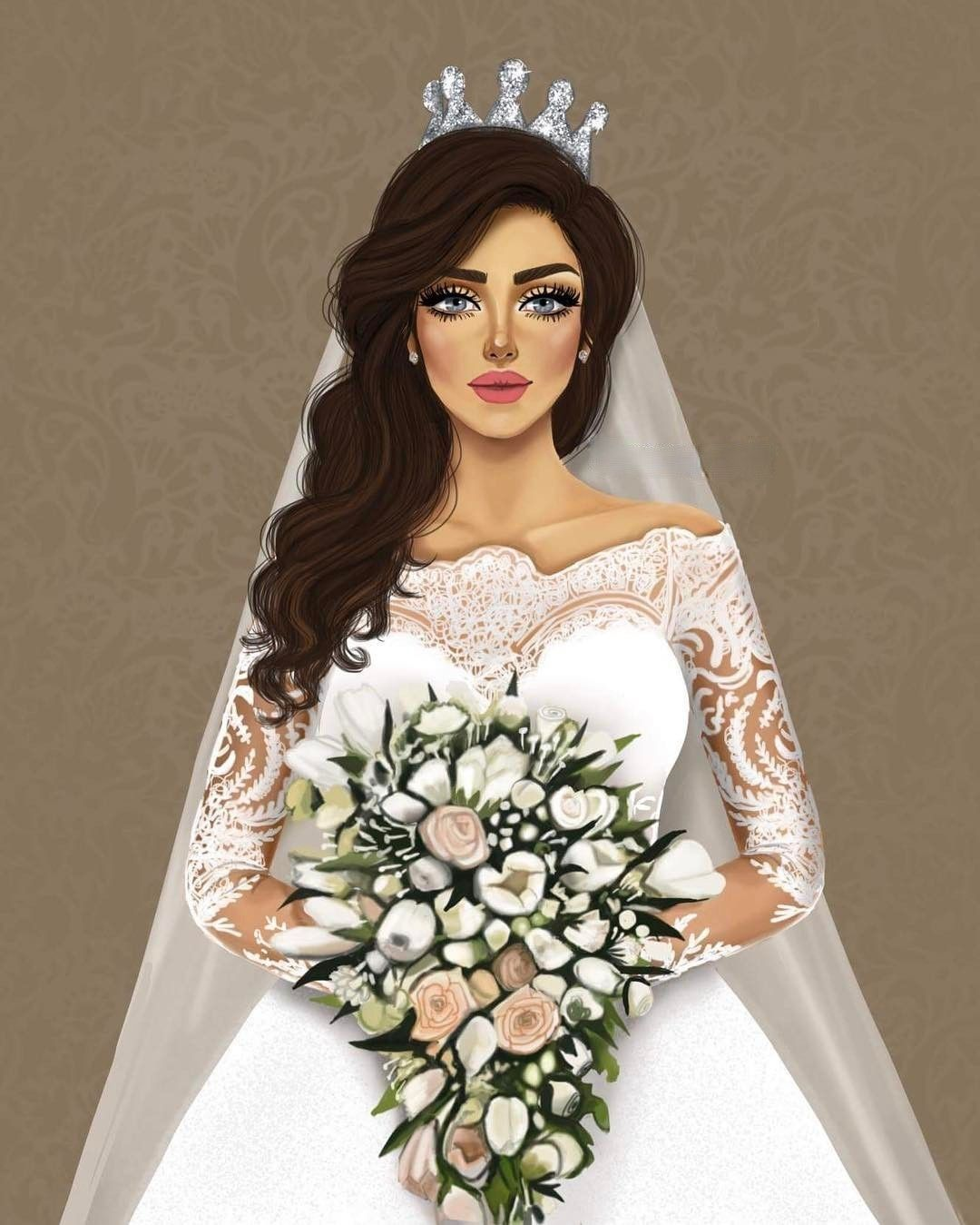 Sarra Art Wedding Drawing Cartoon Girl Images Beautiful Girl Drawing