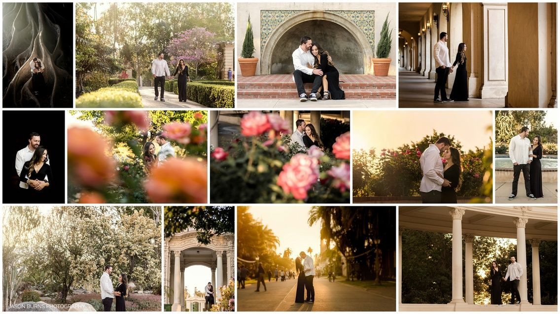 Balboa  PArk Engagement Session San Diego Locations