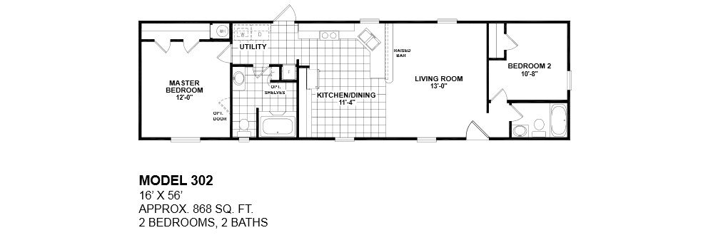 1000 images about Floor Plans on Pinterest. 1 Bedroom Mobile Homes Floor Plans