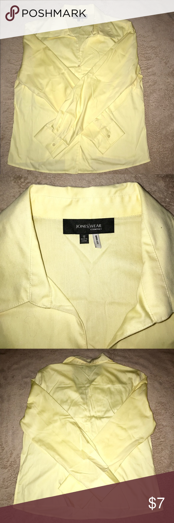 Jones Wear Button Dow Women's Shirt Lovely Button Dow shirt in great condition  no stains no holes Tops Blouses