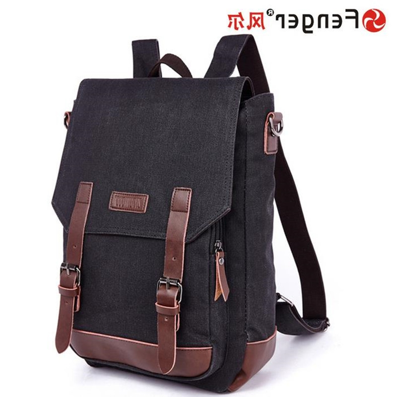 36.90$  Watch now - http://aliphk.worldwells.pw/go.php?t=32776388622 - European and American fashion schoolbags Multifunction Male canvas backpack double shoulder travel bag mochila monederos 36.90$
