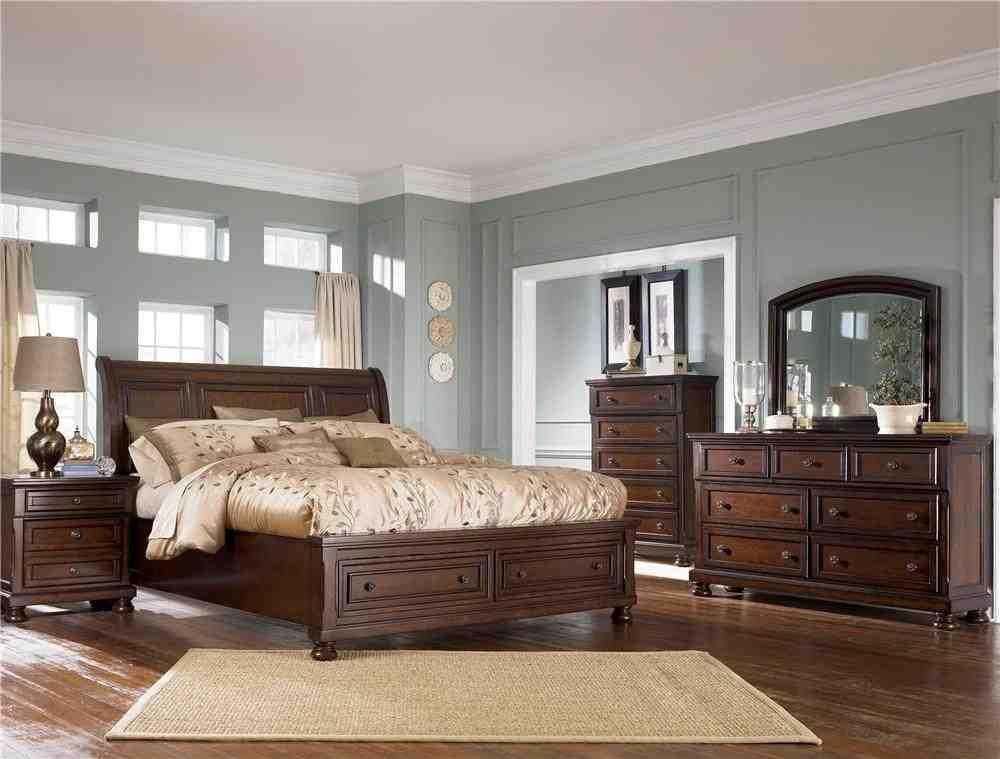 Ashley Furniture Porter Bedroom Set Brown Furniture Bedroom Bedroom Furniture Sets Brown