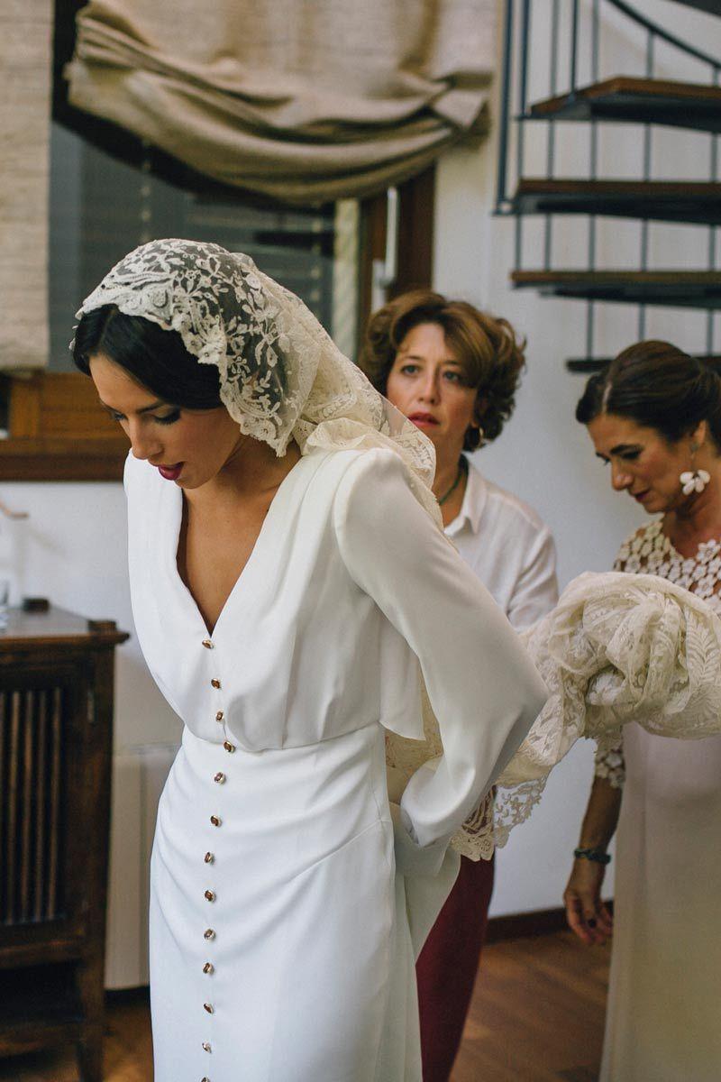 Vestidos novia boho sevilla