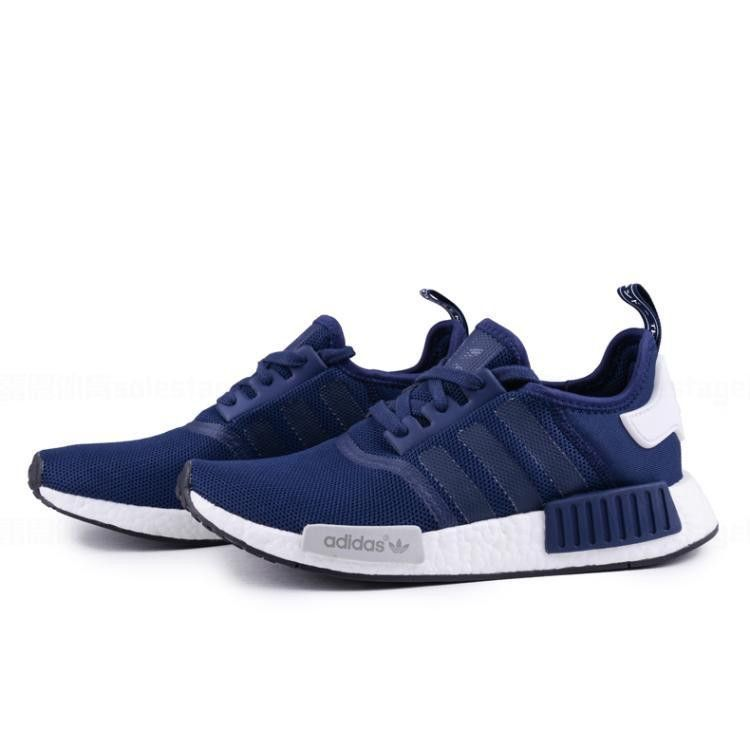 Adidas originals NMD R1 Men- running trainers sneakers blue(in stock)