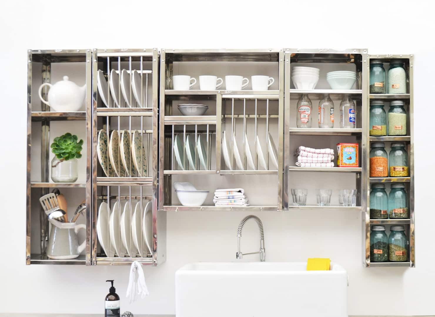 Modular shelving: industrial by the plate rack, industrial #plateracks