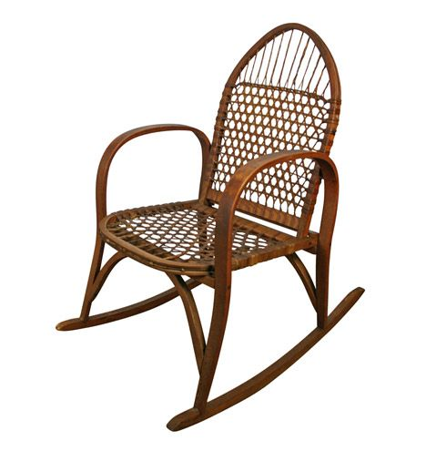Beau W.F. Tubbs Sno Shu Rocking Chair C1915