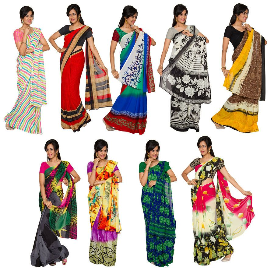 Year End Sale - Buy Vasantham 9 Georgette Saree Collection @ Rs.2099/- Free Shipping, COD and 100% customer satisfaction. Get additional 10% OFF on all Net Banking/Credit/Debit Card and 5% OFF on Cash on Delivery. shop @ bit.ly/1T01s2T #sarees #sareesonline #designersarees #sareecombo