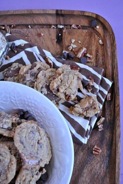 Oatmeal Turtle Cookies. Yummy!