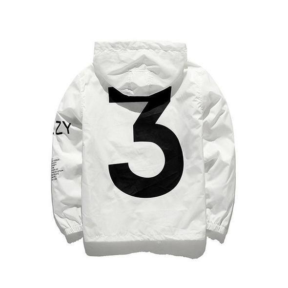 6b8fccee4 Limited Edition Y-3 Windbreaker Jacket Yeezus Tour