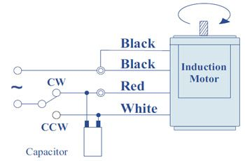 Single Phase Motor Direction Change Diagram Google Search Directions Capacitor Change
