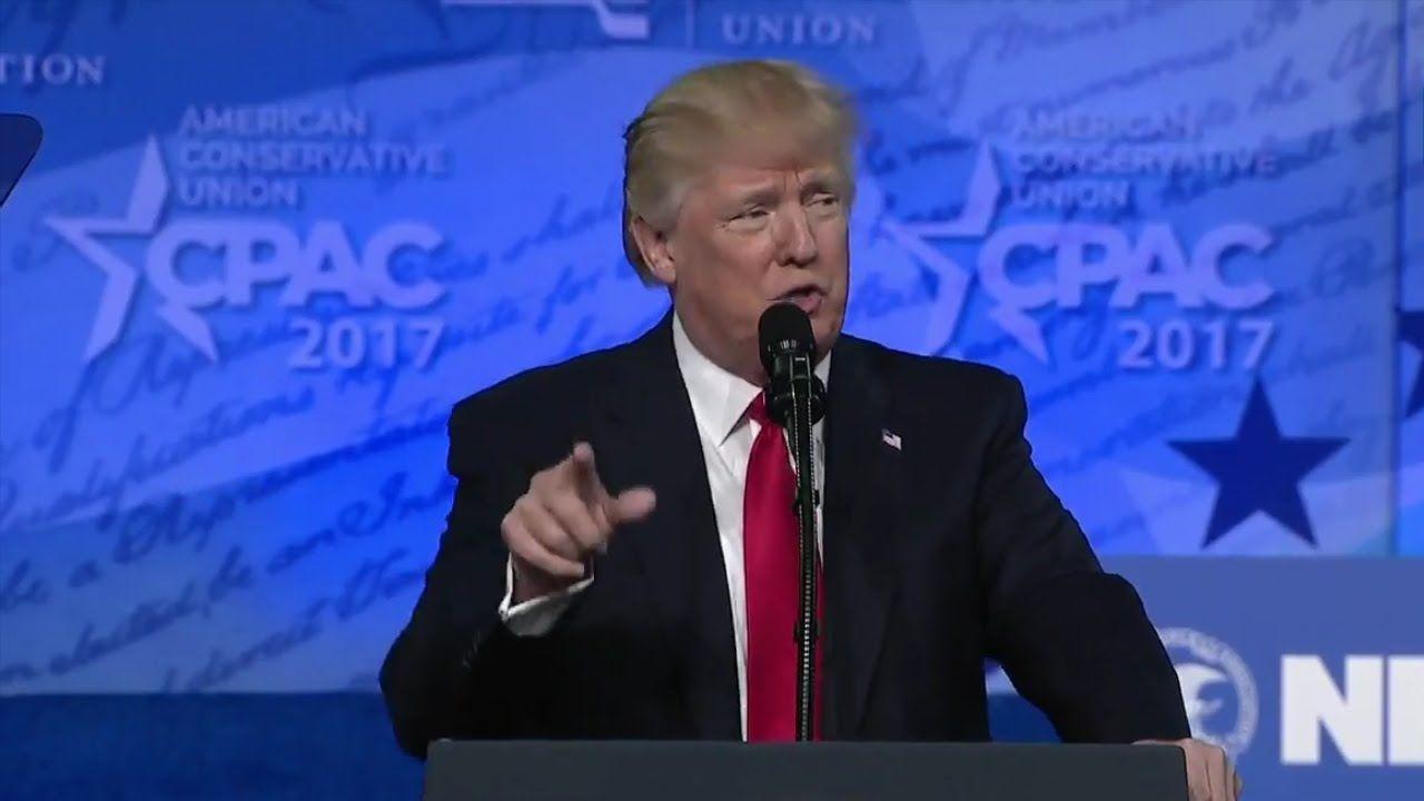 Trump's CPAC Speech About Hillary, Obama, Media
