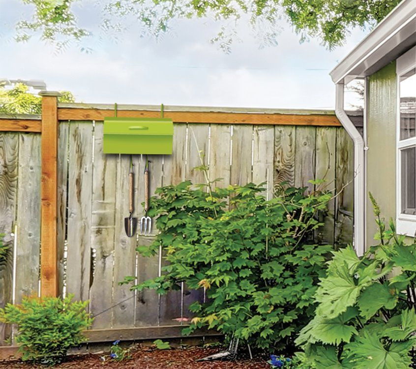 Smart Storage: Keep Your Garden Supplies Close And Dry. The Cubby Garden  Tool Organizer